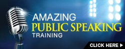 Amazing Public Speaking Training