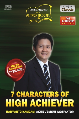 audio cd - 7 characters of high achiever