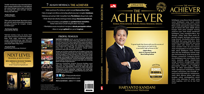 Cover Buku Motivasi - The ACHIEVER Terbaru!